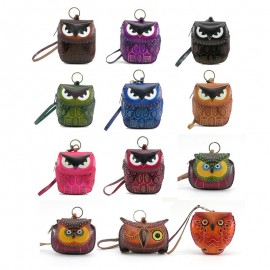 12 Pcs Assorted Owl Wristlet