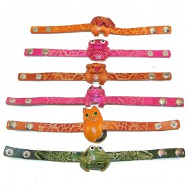 12 Assorted Animal Bracelet