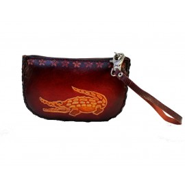 718 Alligator Crocodile Wristlet