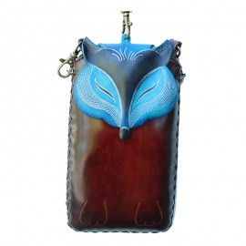 Owl Cell Case Blue
