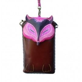 Owl Cell Case Pink