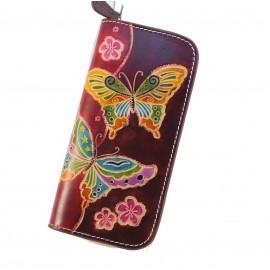 A7001 butterfly elegant wallet