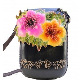 Ay39 flower rectangle pouch