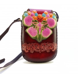 Ay41 butterfly rectangle pouch