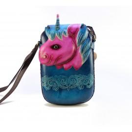 Ay42 unicorn rectangle pouch
