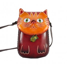 ay59 cat with fish pouch