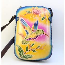 ay61 hummingbird rectangle purse