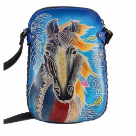 Ay67 blue horse
