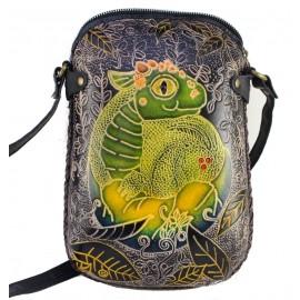 Ay69 lizard rectangle pouch