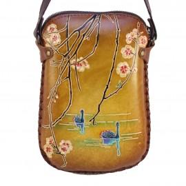 y29 swan blossom purse