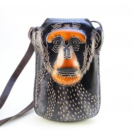 Ay38 monkey rectangle pouch